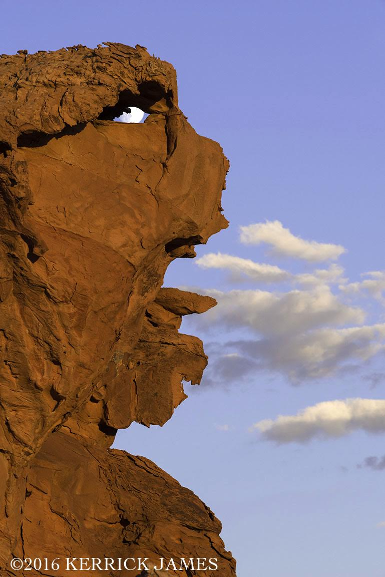 Land Form | Landform Faces Indian Heads And Other Humanoid Rocks